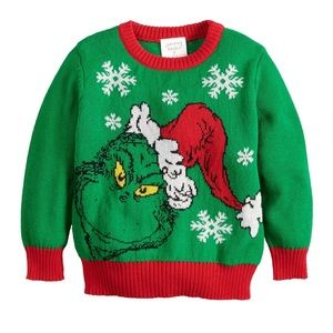 The Grinch Ugly Christmas Sweater